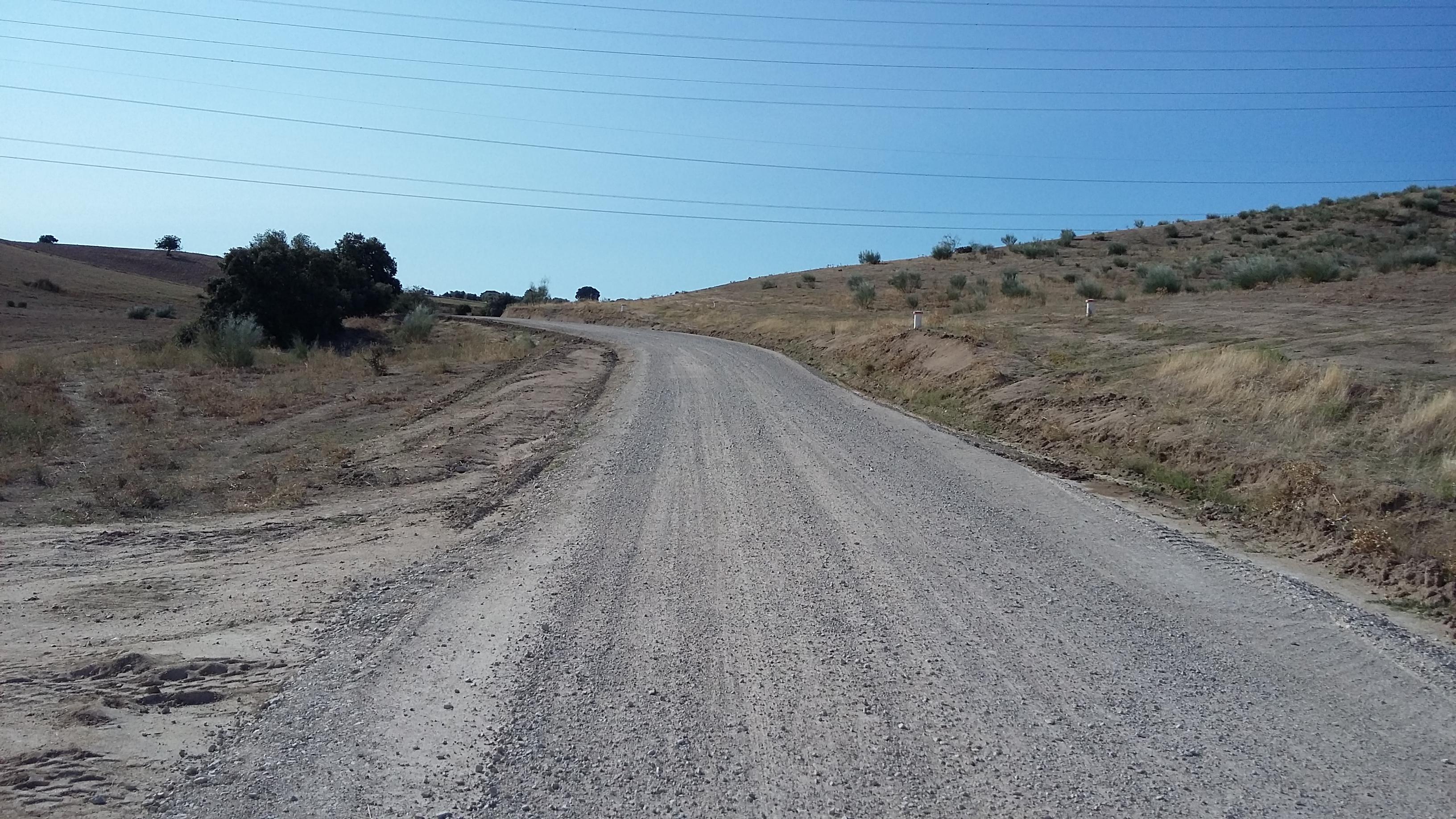 Camino rural cañada real segoviana