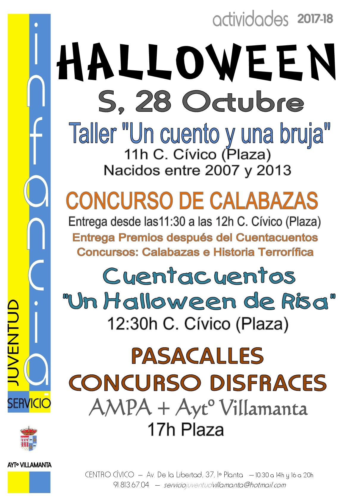 Halloween 28 de octubre