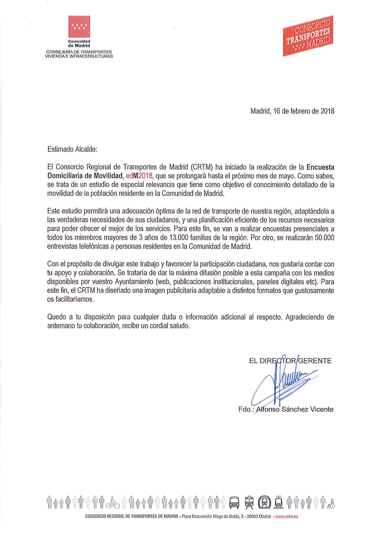 CARTA GERENTE CRTM- EDM2018 ALCALDES.