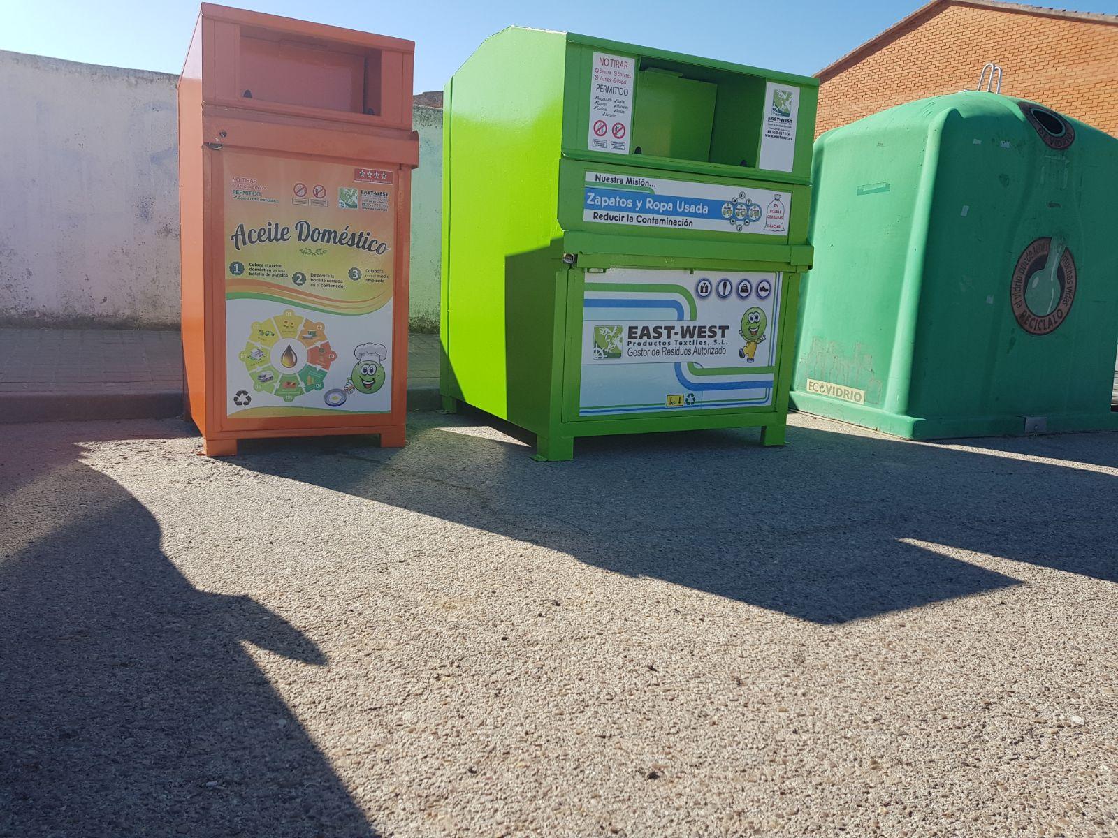 Nuevos contenedores de recogida selectiva