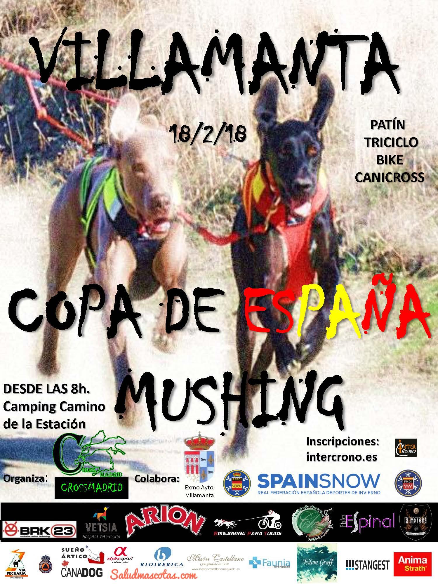 Copa de España de Mushing 18/12/18