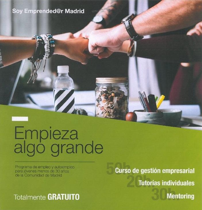 Curso de gestión empresarial, tutorías, mentoring