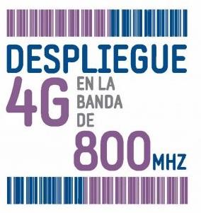 Despliegue 4G en la banda de 800Mghz
