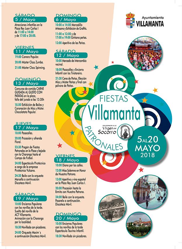Fiestas Mayo 2018 en Villamanta
