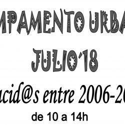 Campamento Urbano Julio 2018