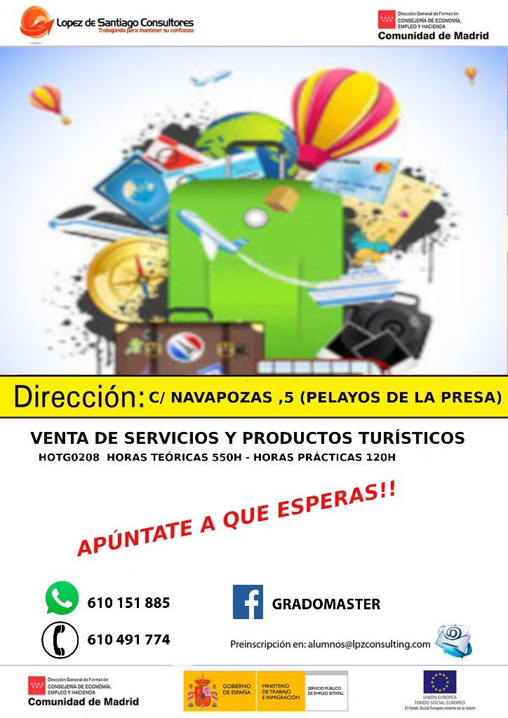 Curso de Venta de servicios y productos turísticos