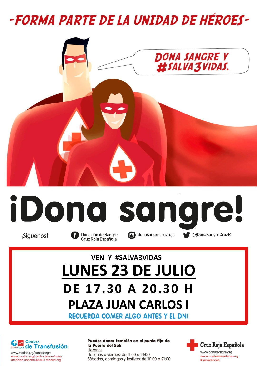 Dona Sangre 23 de Julio