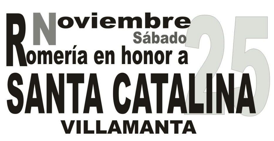 Romería en honor a santa Catalina 25 de Noviembre